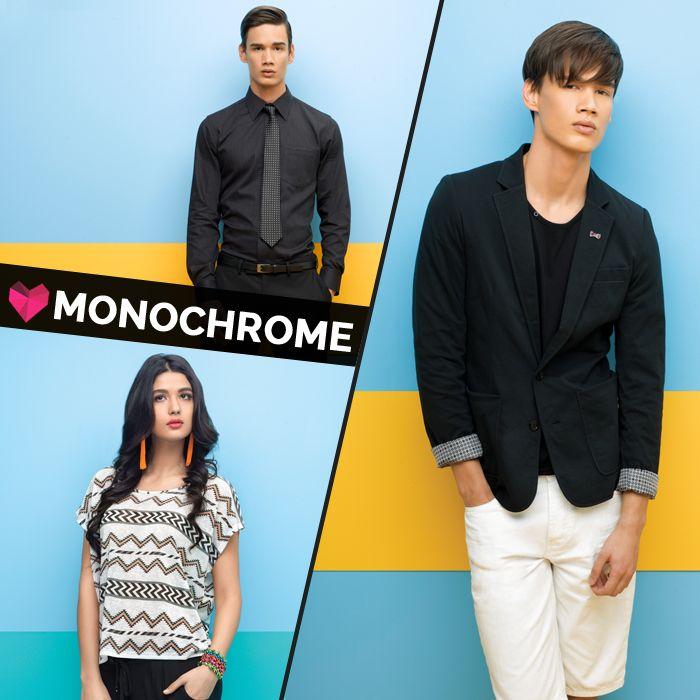 #Monochrome #Splash #Fashion #SplashIndia