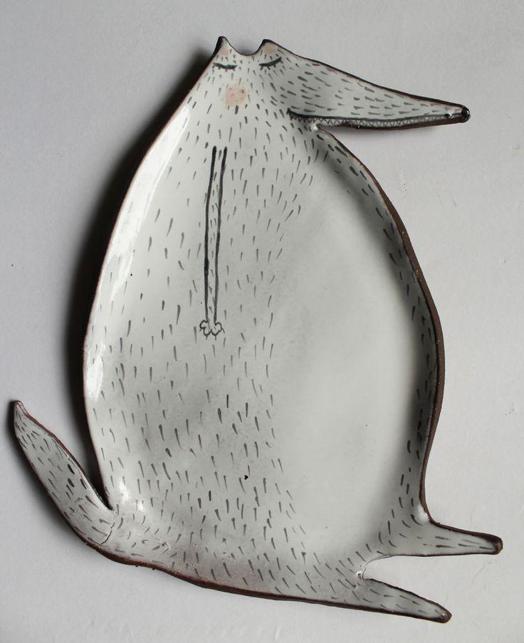 Adorables animales de cerámica creados por una artista polaca