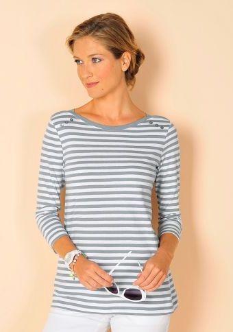 Proužkované tričko #ModinoCZ  #strips #fashion #modern #trend #clothing #pruhy #oblékání #moda #trendy