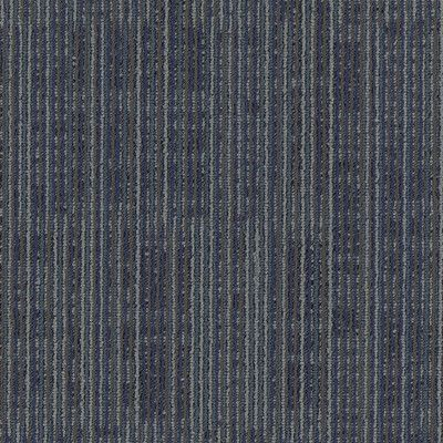 "Mohawk Aladdin Get Moving  24"" x 24"" Carpet Tile in Blue Stream"