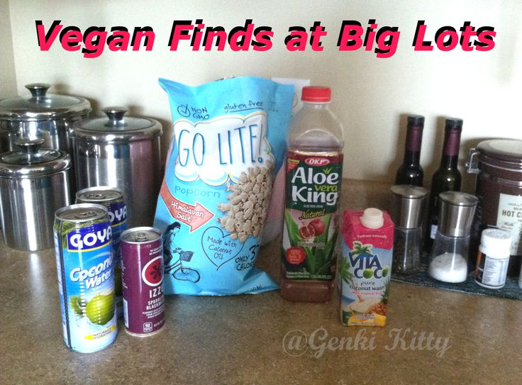 Vegan Finds at Big Lots