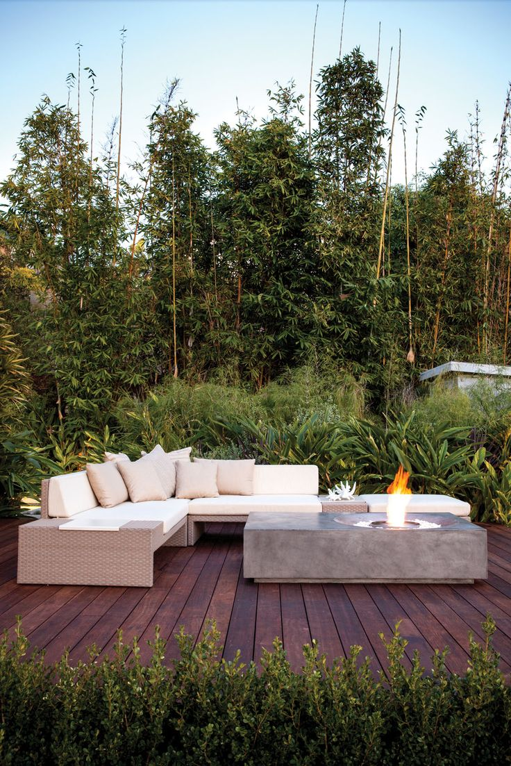 Elements Outdoor Sectional | Transitional Outdoor Furniture