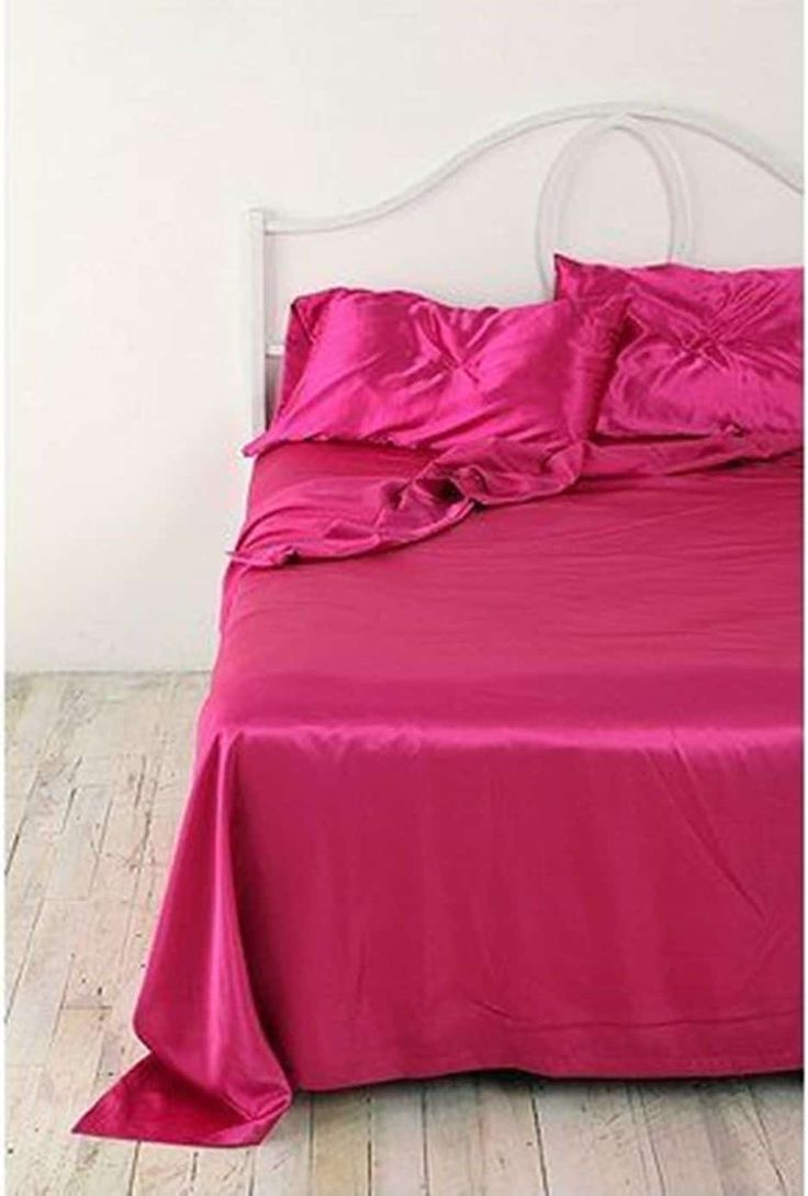 Glamorous Satin Sheets For The Bedrooms