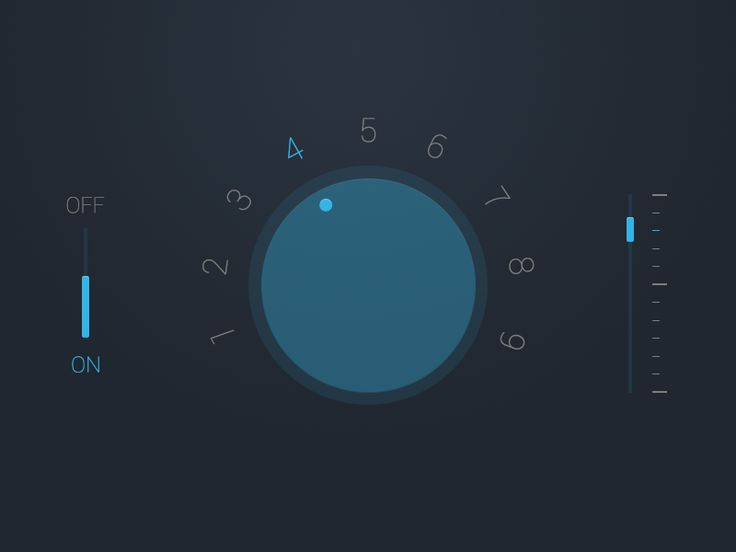 Some Audio UI I designed.    http://dribbble.com/shots/874241-Audio-UI-Rebound