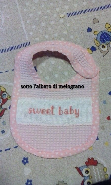 Bavaglino sweet baby