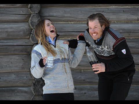 Norwegian Alpine Ski Team + Dale of Norway photoshoot