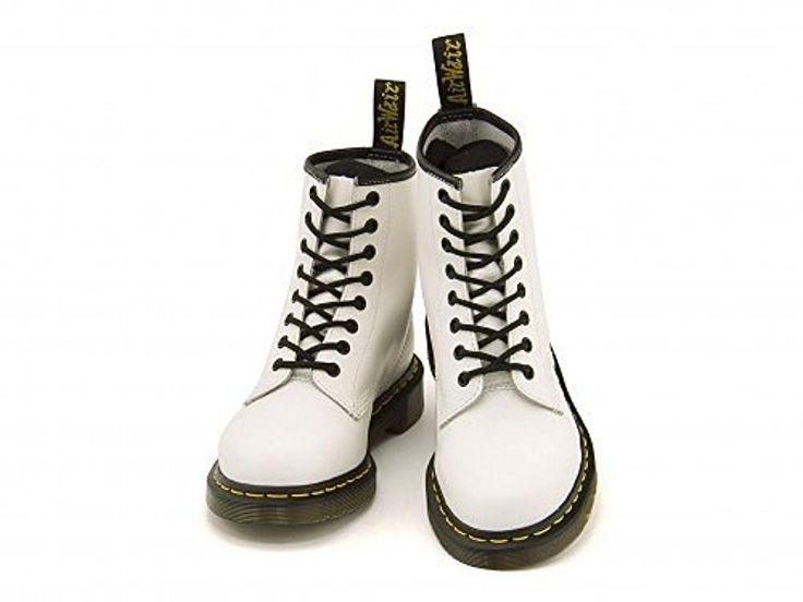 Amazon | [ドクターマーチン] Dr.Martens メンズ ワークブーツ 8 ホール ブーツ クッション性 カジュアル デイリー ストリート 1460Z 8 EYE BOOT 10072100 ホワイト 28.0cm | Dr.Martens(ドクターマーチン) | ブーツ