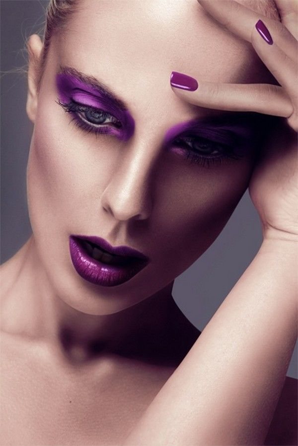 Colorful Winter Makeup Tips For 2016 2017 – Page 2 – She Look Book