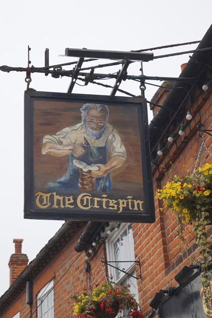 Pub Sign Art a la cARTe: The Crispin - Wokingham, Berkshire