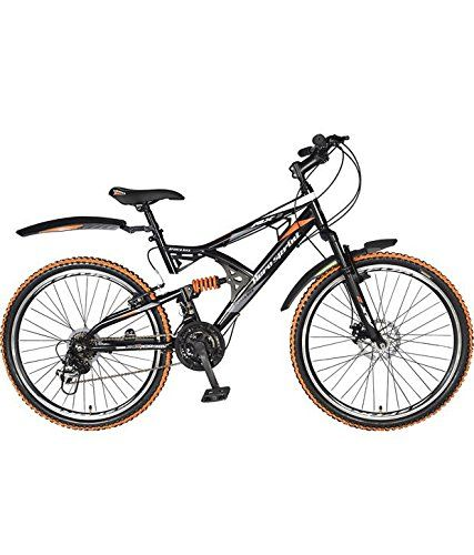 Hero RX2-21S-RD-OR 26T Speed Steel Sprint Bicycle with Disc Brake, Kids 24-inch...