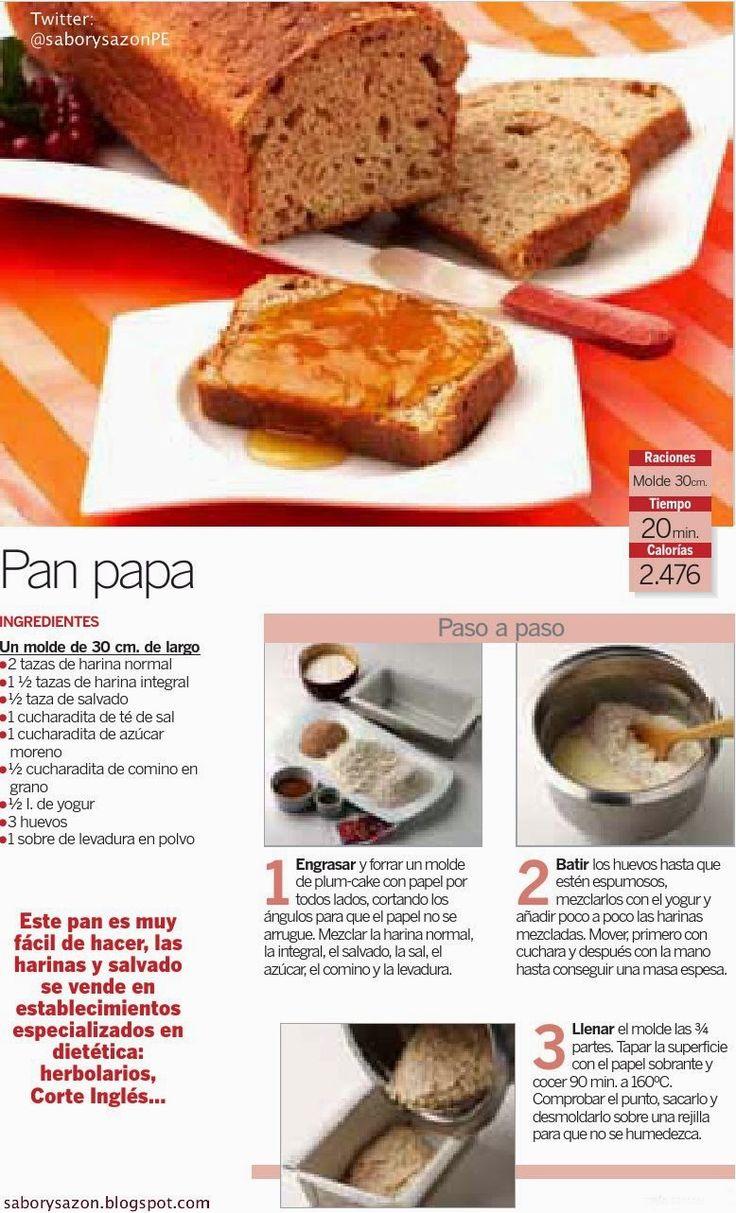 1000 images about sabor y saz n on pinterest pizza tes for Recetas de postres faciles