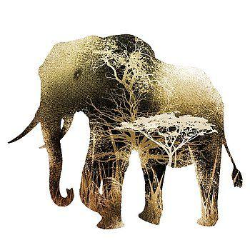 Nostalgic Art - Colorful Elephant