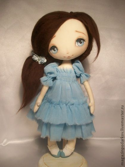 Collectible handmade dolls.  Fair Masters - handmade doll interior Helen.  Handmade.