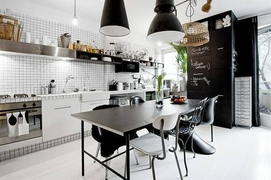 Industral-practical kitchen