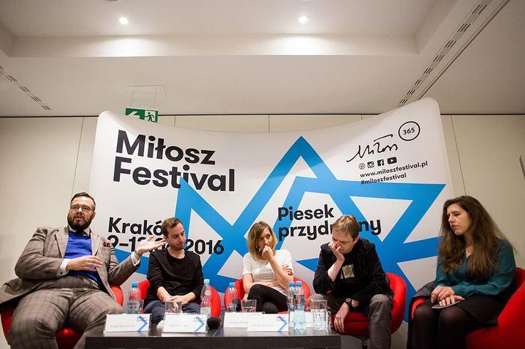 Miłosz Festival 2016, Spotkanie poetyckie: wiersze z niedaleka Fot. Tomasz Wiech