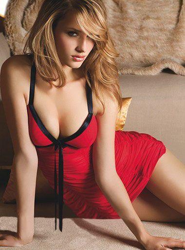 Red Fashion Ruffle Badydoll Lingerie