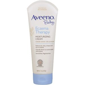 Aveeno Baby Eczema Therapy Moisturizing Cream, 7.3 oz