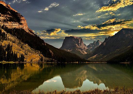 Square Top Mountain Wyoming Travel Pinterest