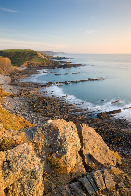 Blegberry Beach, Hartland, North Devon, England