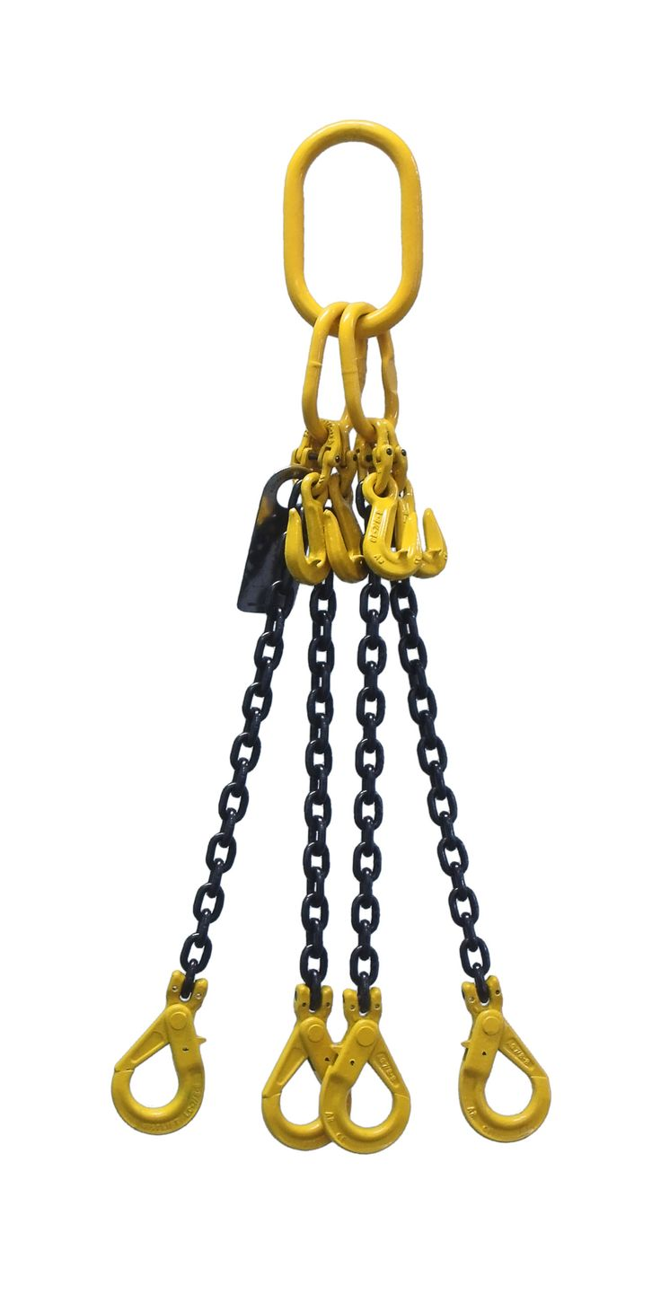 4 Legs Chain sling distributed by James Crane