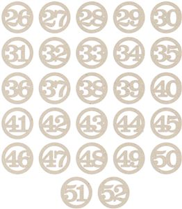 Silhouette Design Store - View Design #36177: everyday life number circles set 2