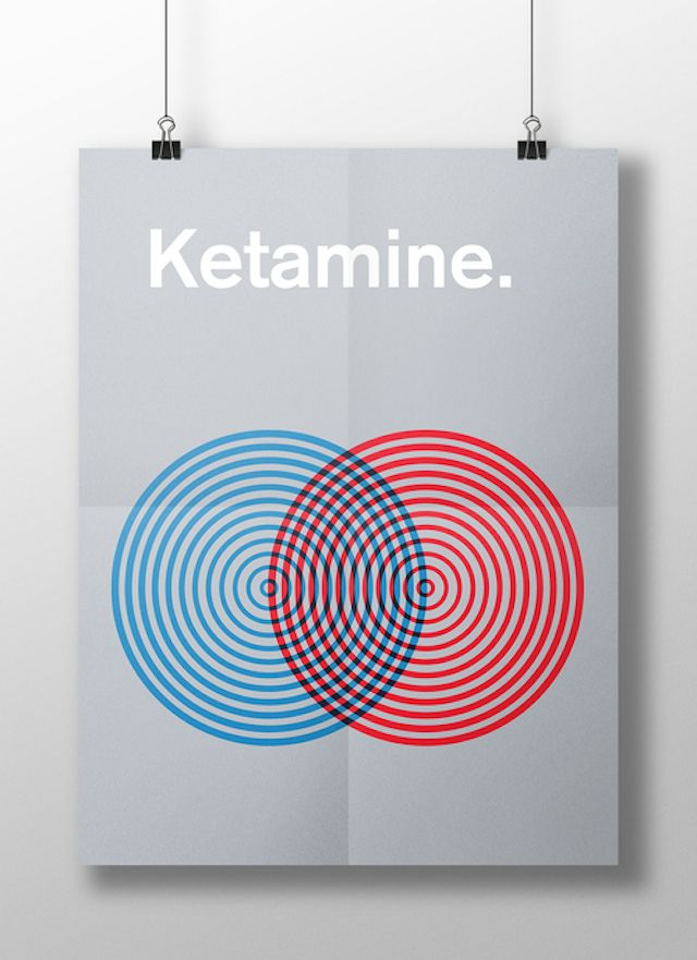 Meaghan Li || This is your brain on drugs: Ketamine || http://www.meaghanli.com/
