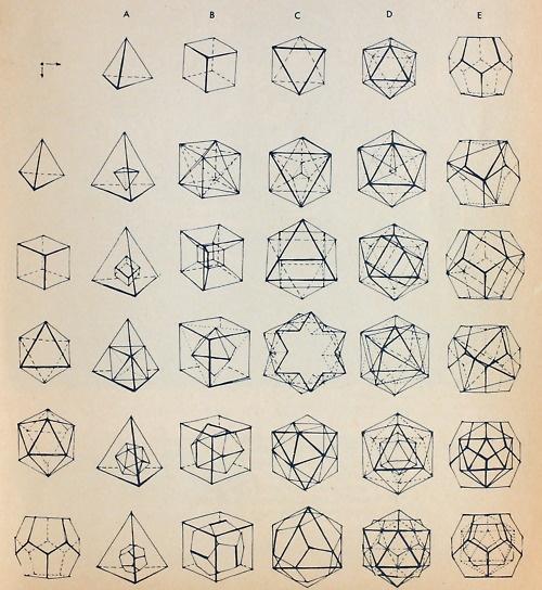 No Link Geometric 3d Shapes Patterns Pinterest 3d