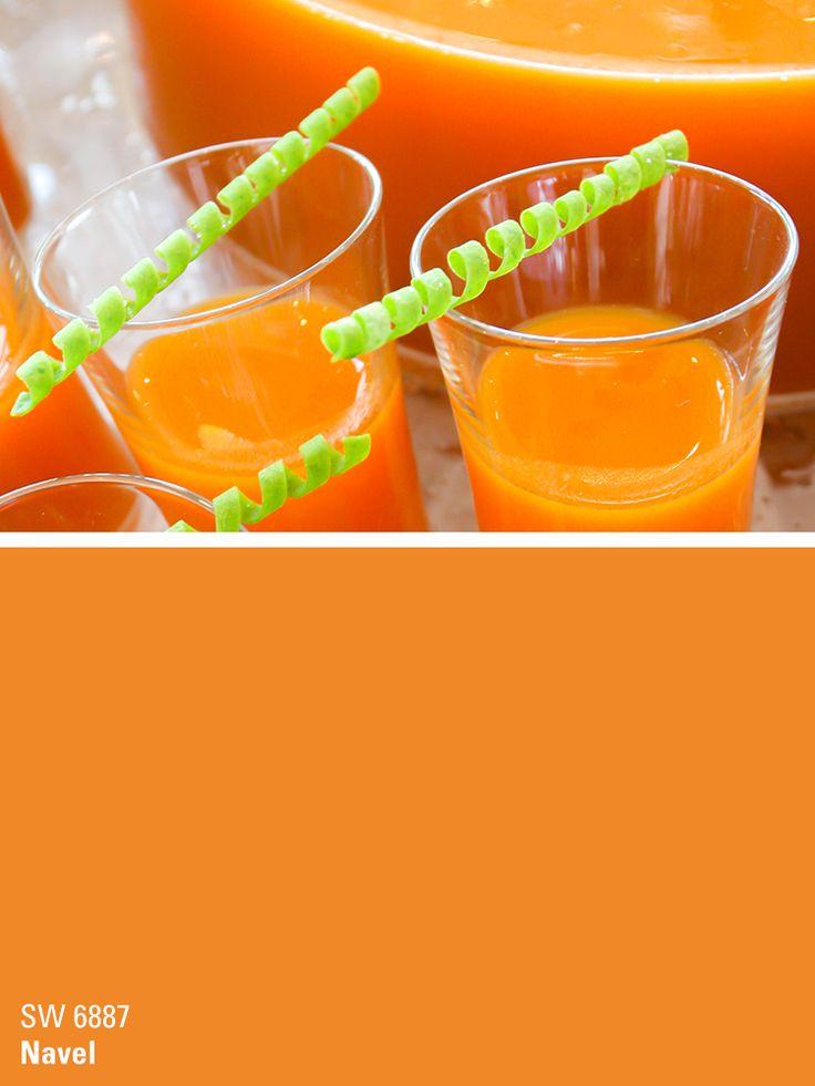 1000 ideas about orange paint colors on pinterest for Shades of orange paint