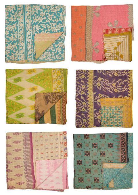 sari quilts