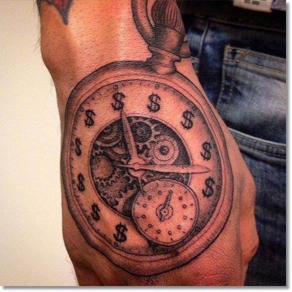 30 best pocket watch tattoo images on pinterest for Pocket watch tattoo design