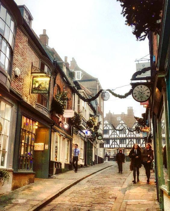 Christmas in Lincoln, England
