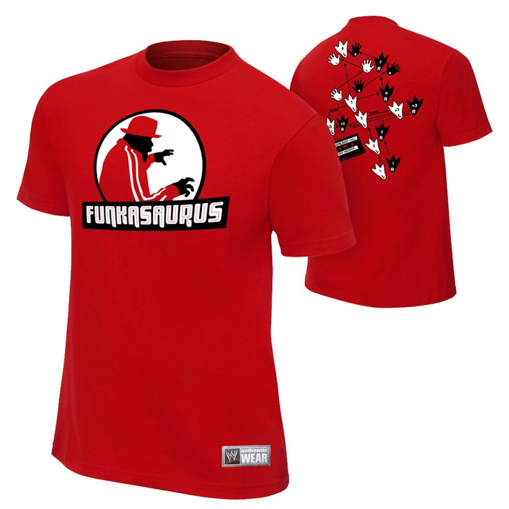 Brodus Clay Funkasaurus Authentic T-Shirt - WWE