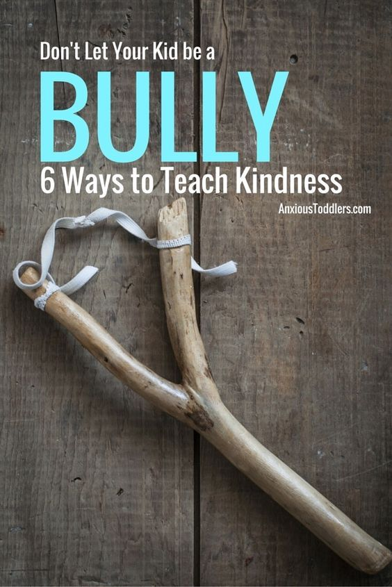 Don't Let Your Kid be a Bully. 6 Ways to Teach Kindness