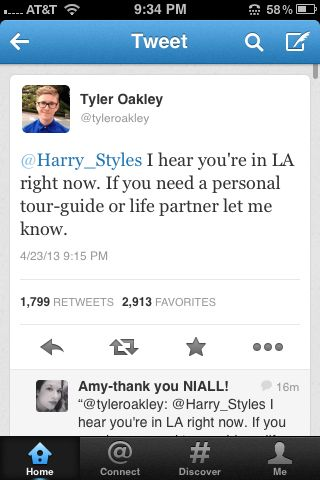 I honestly think Tyler Oakley might be one of the most funny people on earth