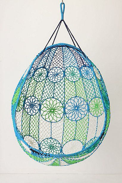 Knotted Melati Hanging Chair #anthropologie
