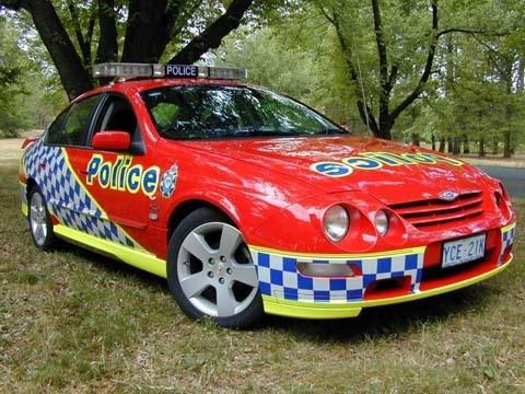 Australian Capitol Territory Police  Ford Falcon AU XR8 Highway Patrol