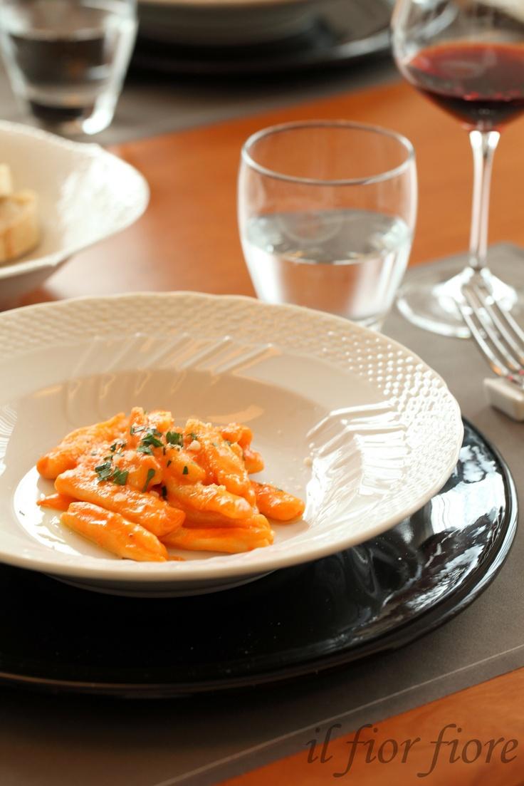 Maccheroni crema di paprica パプリカソースのマッケローニ