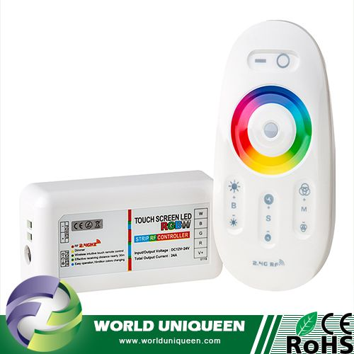 Check out this product on Alibaba.com App:Smartphone or Tablet WiFi Compatible w/ RF Touch Color Remote RGB White LED RGBW Controller https://m.alibaba.com/zMRzE3