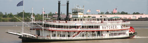 During its heyday in the mid 19th century, New Orleans became the largest city in the South, partly thanks to the steamboats that opened the city to trade with the rest of the country.
