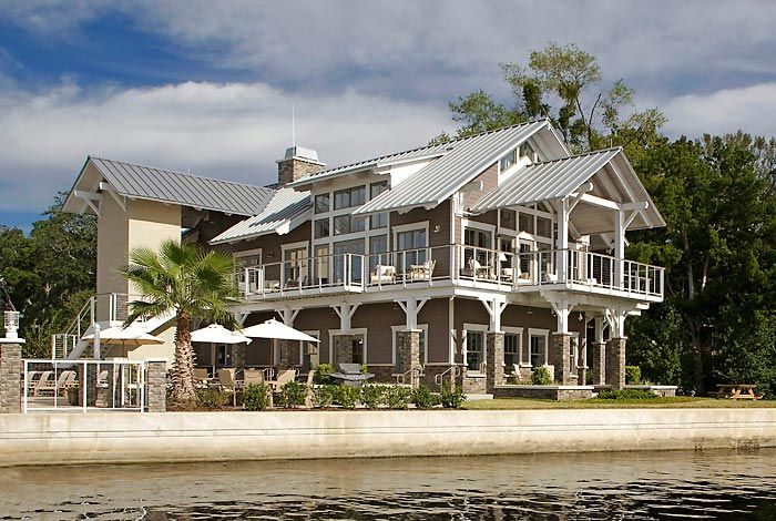Ortega Landing Clubhouse, Jacksonville, FL - Rink Design Partnership (Tom Hurst) - Architectural Photographs of a residential yacht club and state-of-the-art boat utilities building