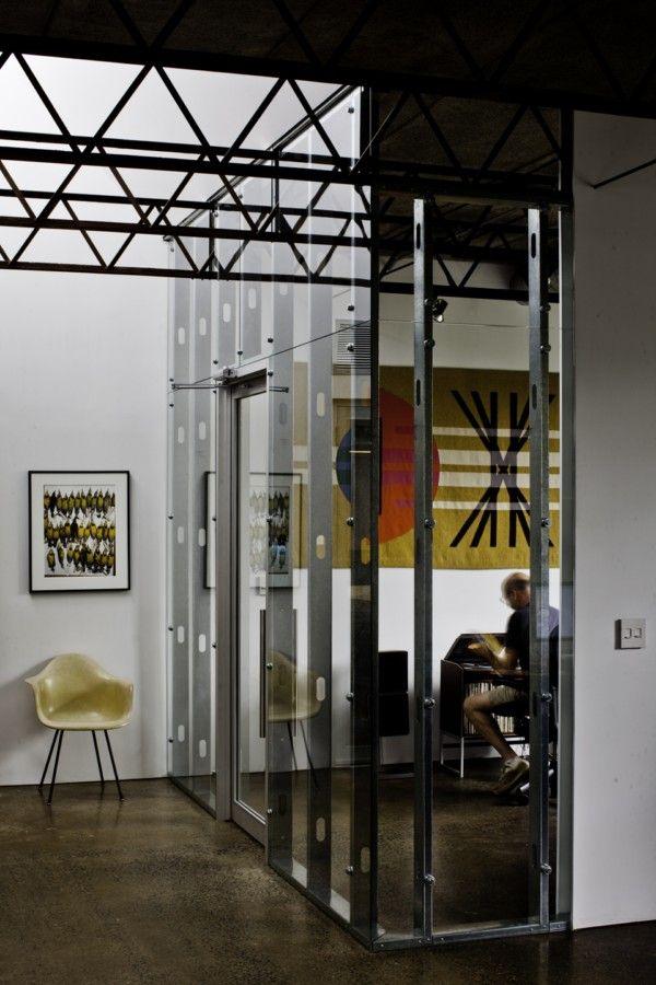 pared estryctura pladur + vidrio