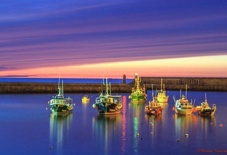 Puerto de Tapia de Casariego, por Manolo Tobalina.