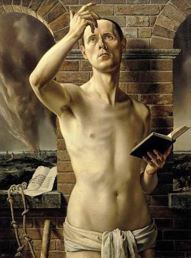 Carel Willink, Self-Portrait, 1937