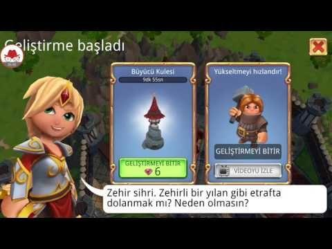 Mobil Oyun Videoları: Royal Revolt 2 Android Strateji