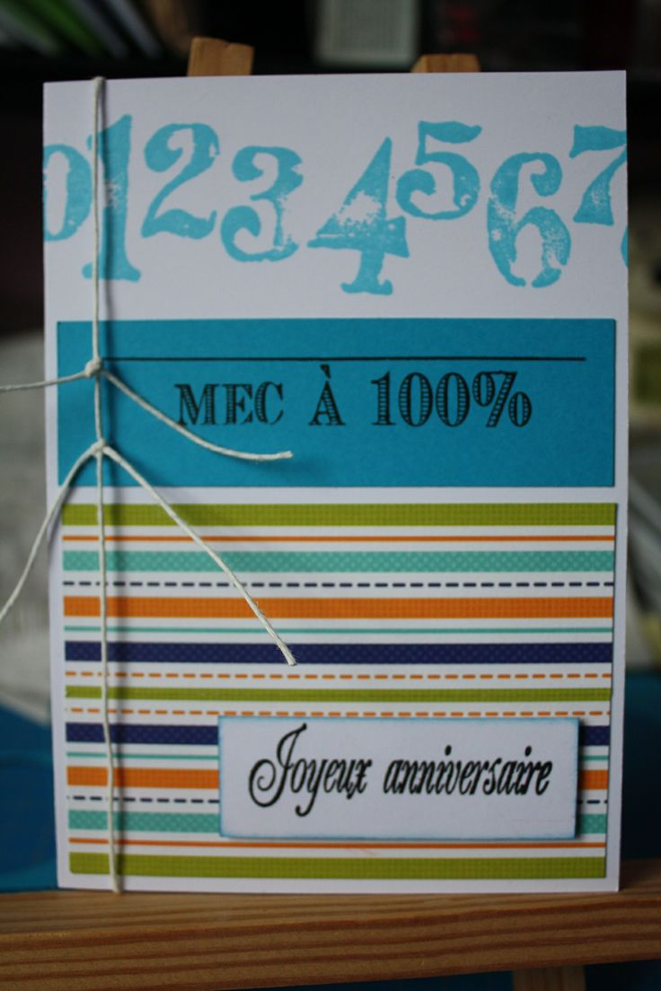 11 Best Cartes Anniversaire Images On Pinterest Cards Diy And