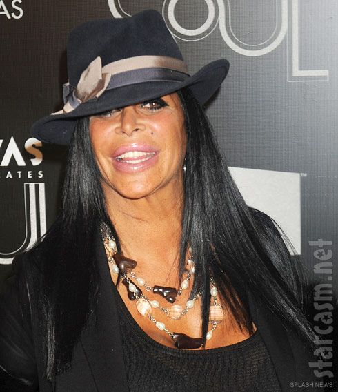 "Aerosmith gone drag & all wrong!! idc what ANY1 says, the ""ladies"" on the show Mob Wives are just drag queens. They arent real women right??Big Ang before and after plastic surgery photos, Is Big Ang a man, or a woman?"