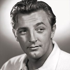 Robert Mitchum - I have a feeling my ma thought he was handsome. : )
