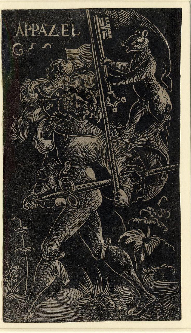 Standard Bearer of Appenzell by Urs Graf, 1521