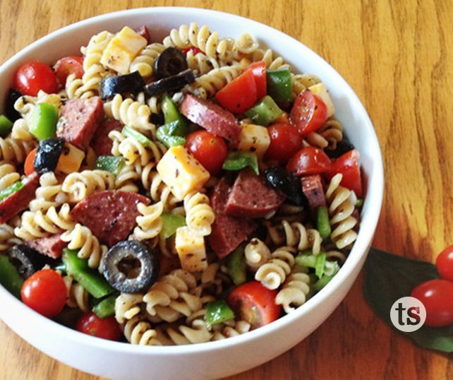 Pasta salads are a staple on many summertime menus - try this delicious Italian Pasta Salad.