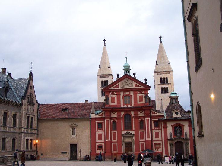 St. George's Basilica is the oldest surviving church building within Prague Castle, Prague, Czech Republic.